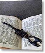Scorpion Metal Print