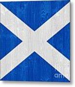 Scotland Flag Metal Print