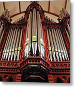 Scots Church Melbourne Metal Print