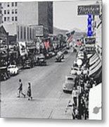 Scott Congress State Theater La Fiesta De Los Vaqueros Rodeo Banners Circa 1939 Tucson Az Metal Print