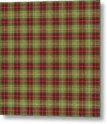 Scott Hunting Green Tartan Variant Metal Print by Gregory Scott