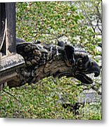 Scott Monument Gargoyle Metal Print