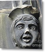 Scott Monument Youth Face Metal Print