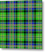 Scott Tartan Variant Metal Print by Gregory Scott