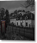 Scottish Inn Metal Print
