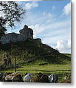 Scottish Castle Ruins Metal Print