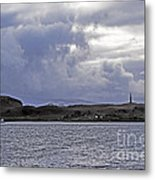 Scottish Storm Metal Print