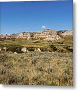 Scotts Bluff National Monument - Scottsbluff Nebraska Metal Print