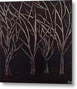Scott's Trees Metal Print