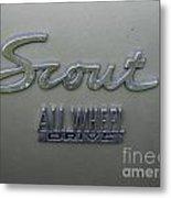 Scout Metal Print