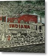 Scrapping Hoosiers Indiana Monon Train Metal Print