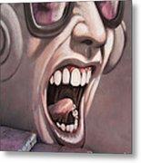 Screamer Metal Print by Gillian Singleton