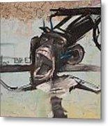 screaming Monkey Metal Print