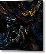 Screaming Metal Print