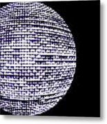 Screen Orb-15 Metal Print