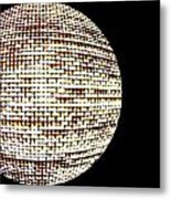 Screen Orb-19 Metal Print