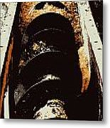 Screw Archimedes 2 Metal Print
