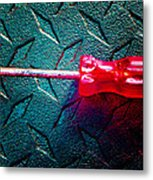 Screwdriver C Metal Print