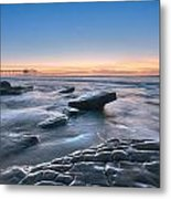 Scripps Pierr Low Tide Metal Print