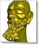 Sculpture Metal Print by Moshfegh Rakhsha