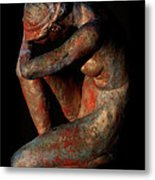 Sculpture Of Nude Woman Metal Print