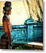 Sculpture Park In Nassau Bahamas Metal Print