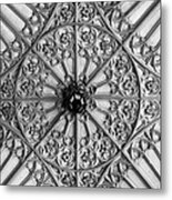 Sculptured Ceiling 1b Metal Print