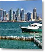 Sd Bay Metal Print