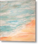 Sea And Sand Metal Print by Debi Starr