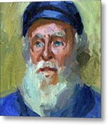 Sea Captain 1 Metal Print