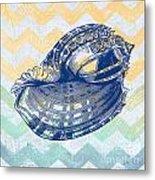 Sea Shell-c Metal Print