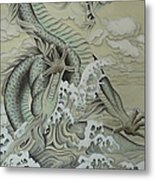 Sea Dragon Metal Print