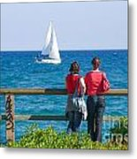 The Sailboat Metal Print