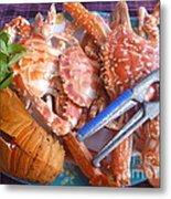Sea Food Metal Print