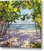 Sea Grape Delight Metal Print