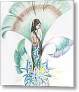 Sea Maiden Metal Print
