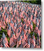 Sea Of Flags Metal Print