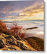 Sea Of Fog Metal Print