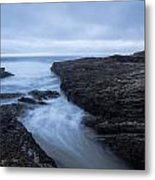 Sea Path Metal Print