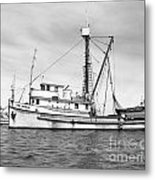 Purse Seiner Sea Queen Monterey Harbor California Fishing Boat Purse Seiner Metal Print