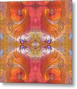Sea Shell Of A Yogi Metal Print