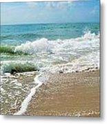 Seashore At Vero Beach Metal Print