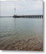 Sea Shore Metal Print
