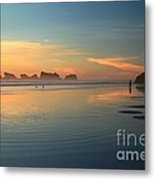Sea Stack Photographer Metal Print by Adam Jewell