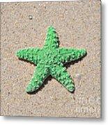 Sea Star - Green Metal Print by Al Powell Photography USA