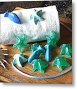 Sea Stars Mini Soap Metal Print
