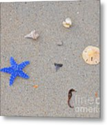 Sea Swag - Dark Blue Metal Print by Al Powell Photography USA