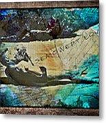 Sea Swept Love Metal Print
