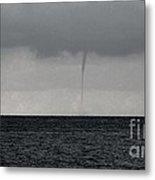 Tornado At Sea Metal Print