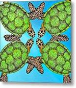 Sea Turtles Metal Print